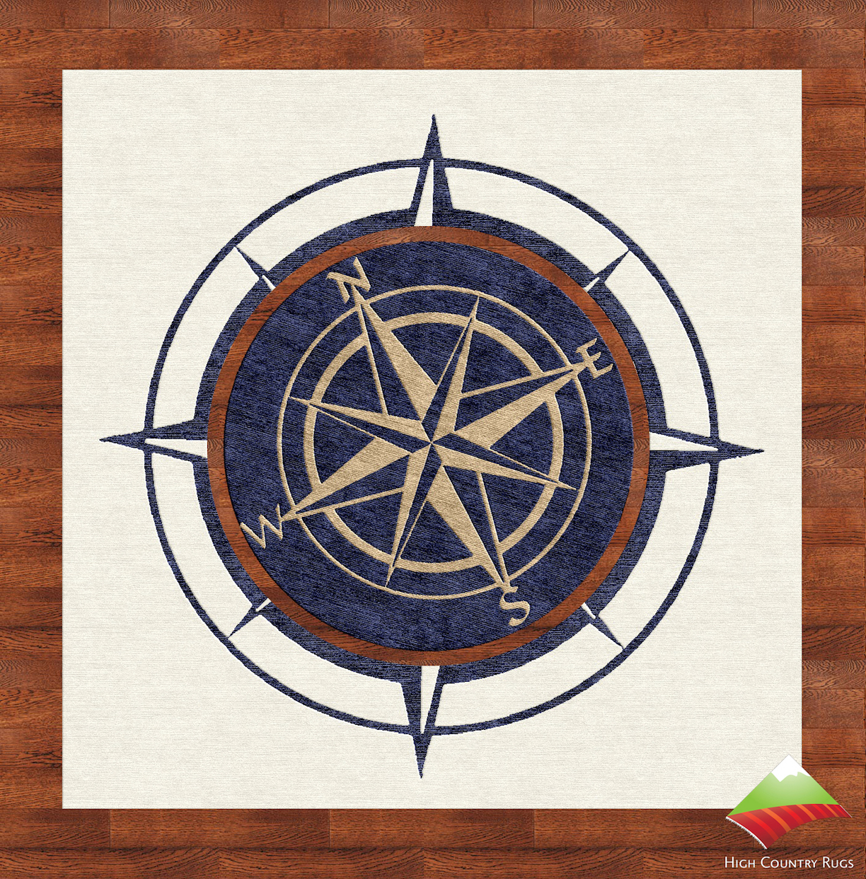 Interactive Compass Rose